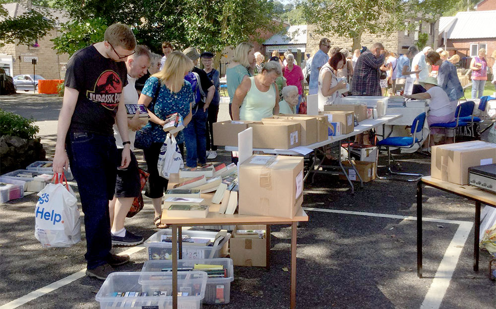 Book Sale & BBQ Raises £1500