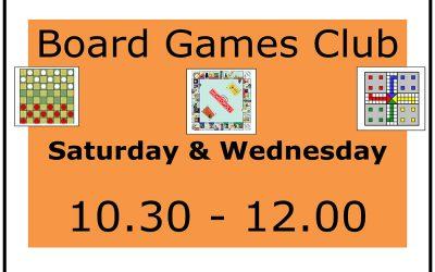New! Board Games Club