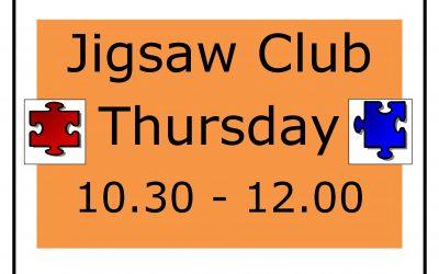 New! Jigsaw Club