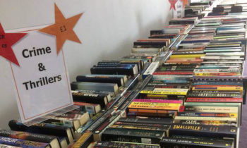 Book Sale Raises £1883 for Centre