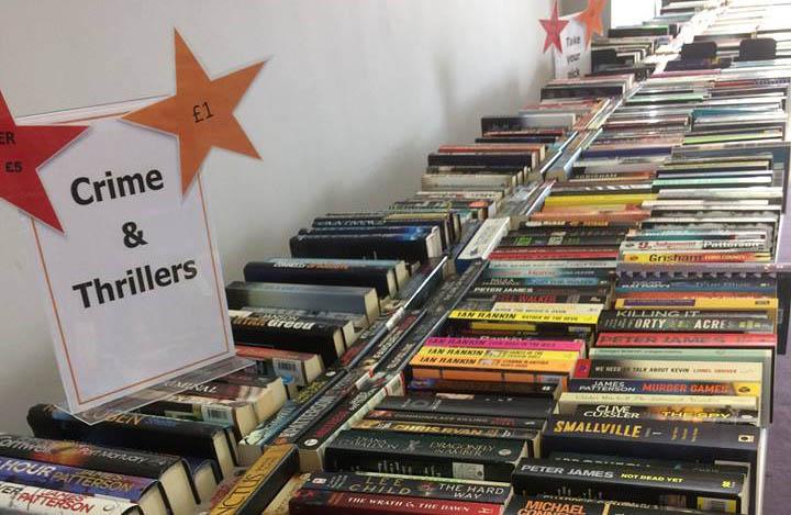 Book Sale Raises £1883 for Centre