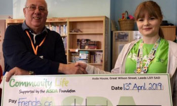 Asda kindly donates funds to Tottington Centre