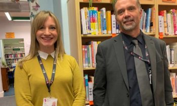 Visit from Salford Library Service